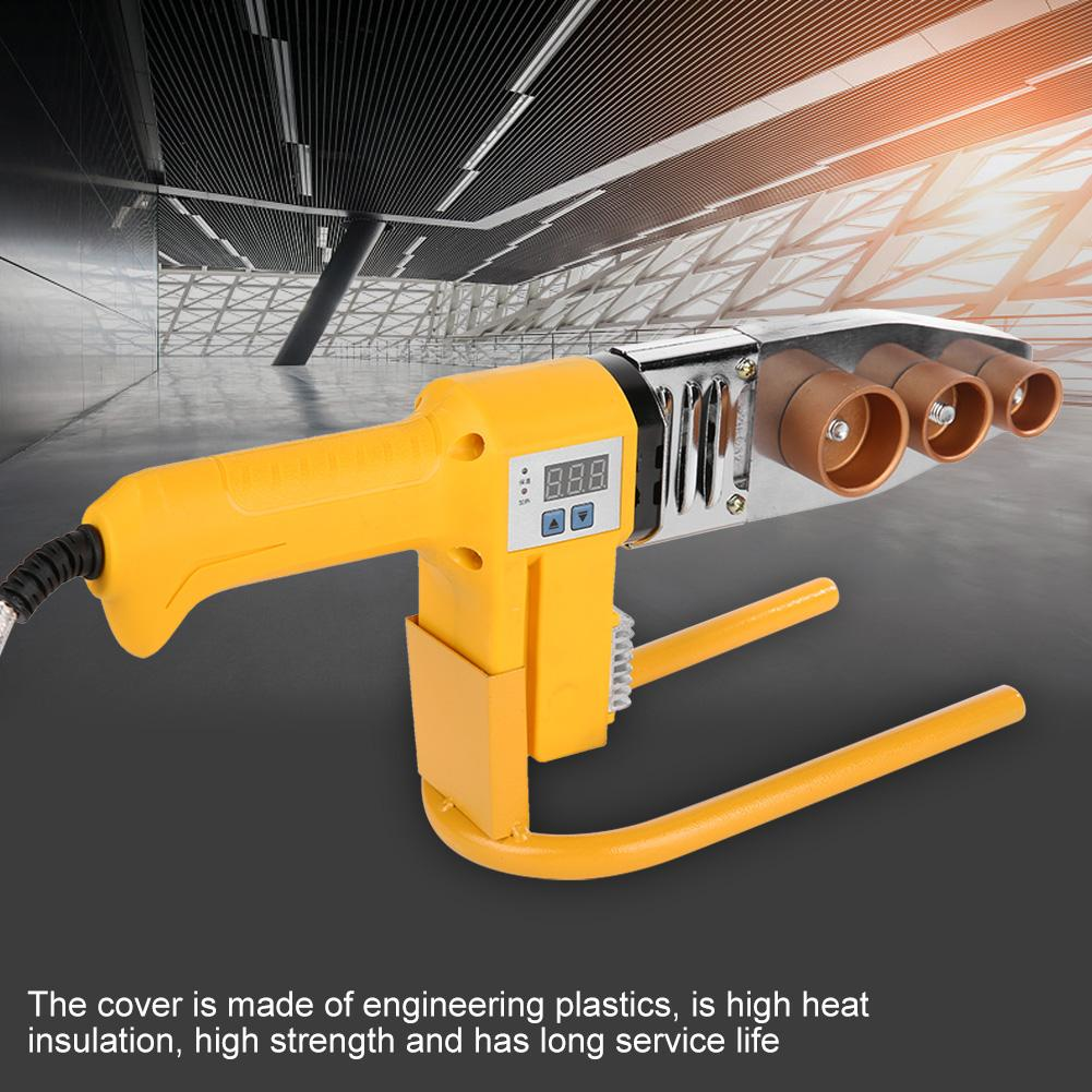 Hot Air Gun 750W PPR Pipe Welding Machine Tube Electric Heating Hot Melt Tool with Digital