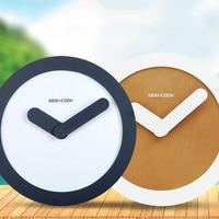 Geekcook Simple Nordic Clock Large Wall Clock Modern Design Wall Watch Clock