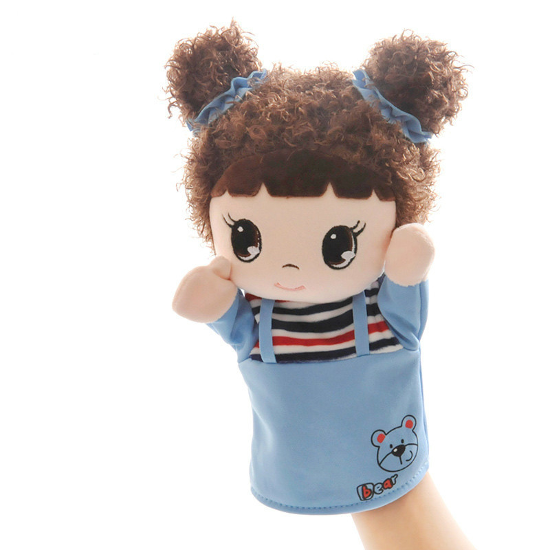 RYRY Children Doll Hand Puppet Toys Classic Figure Kids For Gifts Cartoon Soft Multicolor Unisex Finger Plush Collection Puppets     -