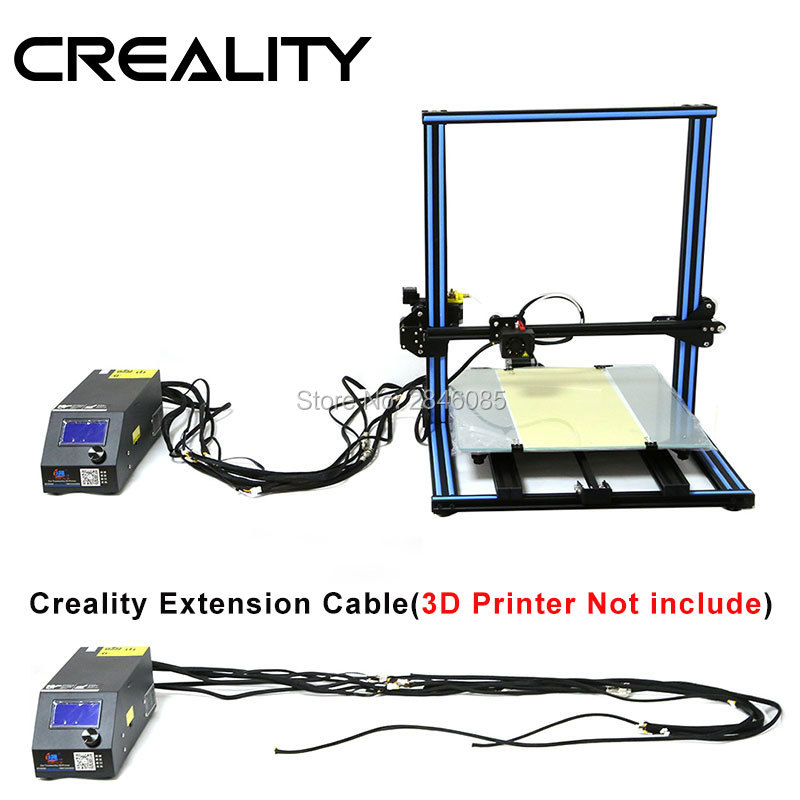 Anniversary Big Sale Facotry supply CREALITY 3D Printer Upgrade Parts Extension cable kit for CR 10/CR 10S Series 3D Printer -in 3D Printer Parts & Accessories from Computer & Office