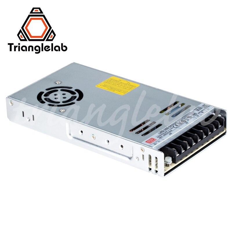 Trianglelab Mean Well LRS-350 PSU Series Guaranteed Genuine 350W 24V PSU 3D Printer 24V PSU ENDER3 CR10 DIY Prusa