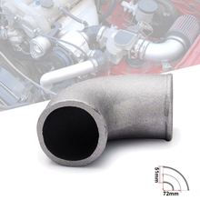 2 Inch Diameter Cast Aluminium Elbow Pipe 90 Degree Intercooler Turbo Tight Bend