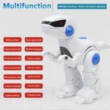 Multifunctional Intelligent RC Dinosaur Robot for Kids
