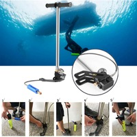 Scuba Diving Oxygen Cylinder Air Tank Portable Hand Operated Pump Inflator Underwater Diving Equipement Accessories