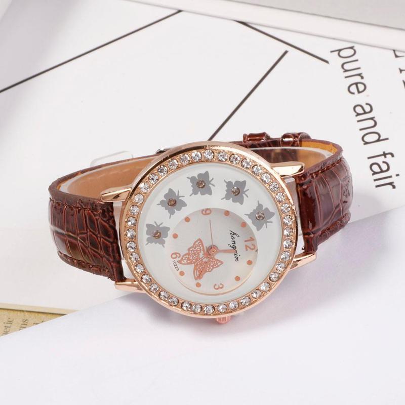 2019 Women Watches PU Leather Classic Quartz Watch Women Watch Casual Dress Wrist Watch Sports Clock Relogio Feminino