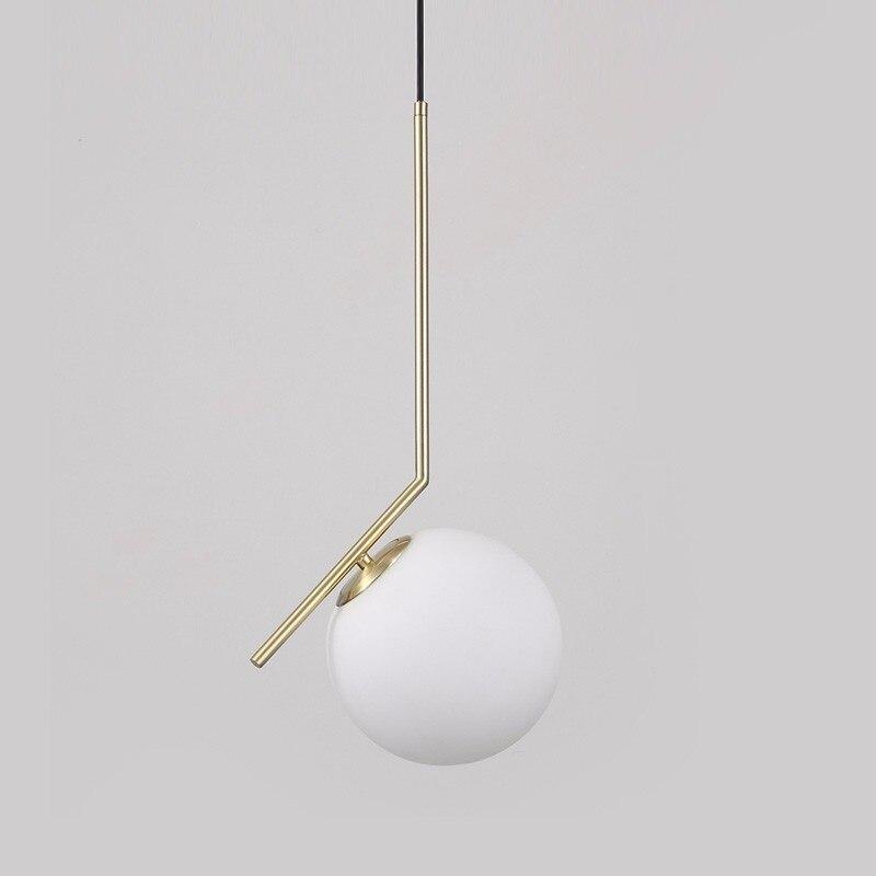 Modern Luxury LED Chandelier Light Glass Ball Dining Living Room Hanging Lamp Gold Chrome Lustre Suspension For Bedroom Lighting