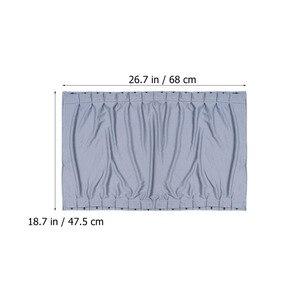 Image 4 - 2 個 70 センチメートル車カーテン窓カバーセット格納式自動カーテン窓ローラー日よけブラインドブロックプロテクターカーテン
