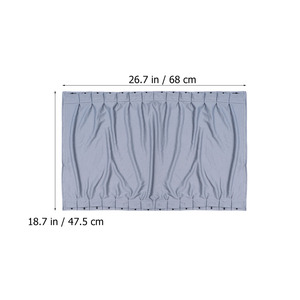 Image 4 - 2pcs 70 ซม.ผ้าม่านหน้าต่างชุดRetractable Autoผ้าม่านหน้าต่างSun Shades Blindบล็อกProtectorผ้าม่าน