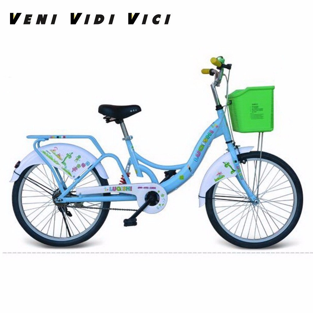 Venividivici 22-inch Comfortable Cushion Bike General Family Bike Student Leisure Bike Household Bicycle
