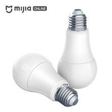 Оригинальный Xiaomi Mi Цзя AQARA лампочки ZigBee версия работает с домашней приложение и для apple homekit smart Светодиодный лампы
