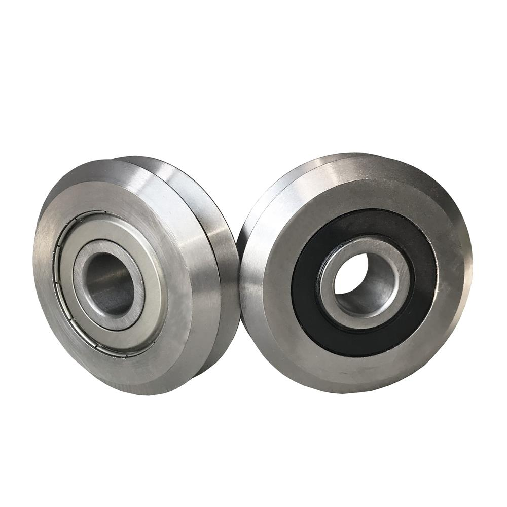 Купить с кэшбэком RM2ZZ RM2-2RS RM2 W2 V Groove Track Roller Bearing 9.525x30.73x11.1mm