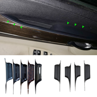 For BMW 7 Series F01 2009 2010 2011 2012 2013 2014 2015 730 740 750 760 Interior Door Handle Pull Protective Cover Trim