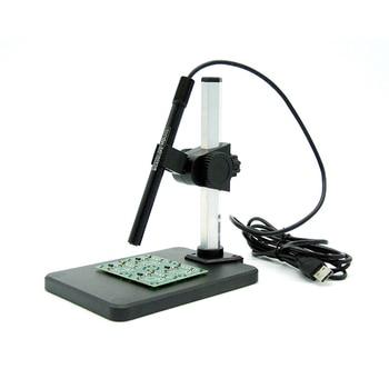 Портативный usb-микроскоп с длинной полосой, 6 светодиодных Лупа с непрерывным увеличением (1-600 x), SMT, 1 шт.