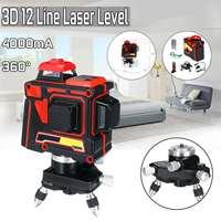 110 240V 12Line 3D Laser Green Level Self Leveling 360 Vertical Horizontal Cross Measure Tool for Profissional construction Tool