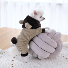 Worldour Rabit Clothes For Dogs Puppy Thick Soft Costumes Ropa Pet Polar Fleece Dog Winter
