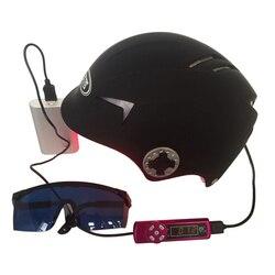 Шапка для роста волос, улучшенный лазерный шлем для восстановления волос, быстро растущая шапка для волос, решение для выпадения волос для м...