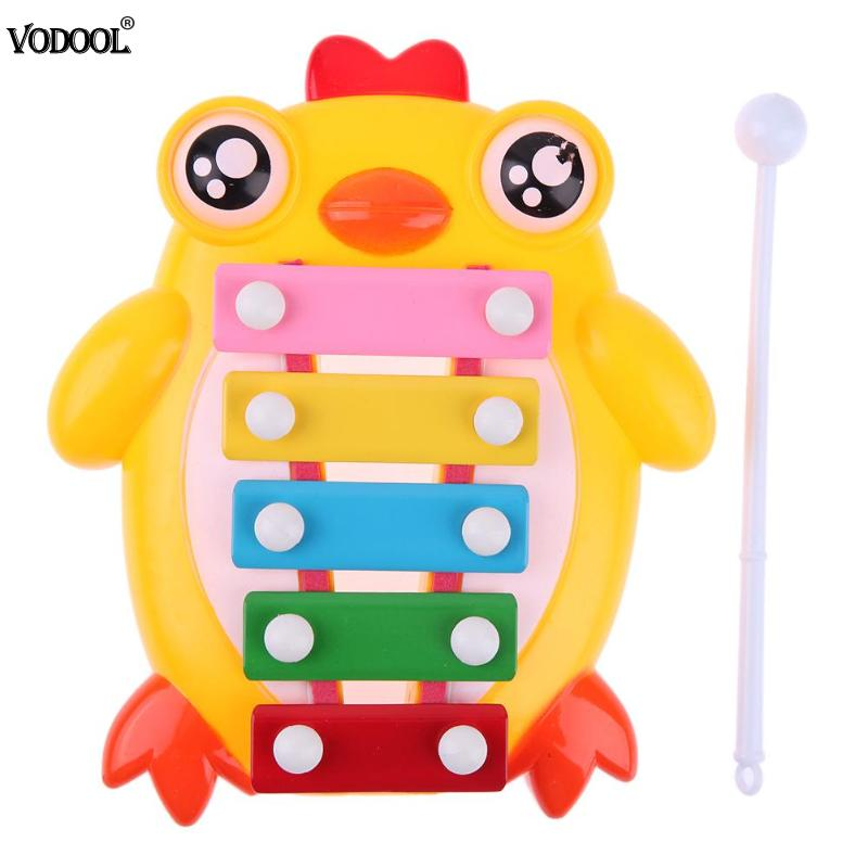 Chick Piano Hit Music Toy Piano Music Toy Baby Early Education Musical Instruments Children 's Toys