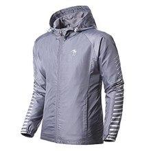 Новинка, Женская/Мужская спортивная куртка, Весенняя/Осенняя куртка, ветровка для бега, ветронепроницаемая куртка для бега, полосатые толстовки, уличная одежда