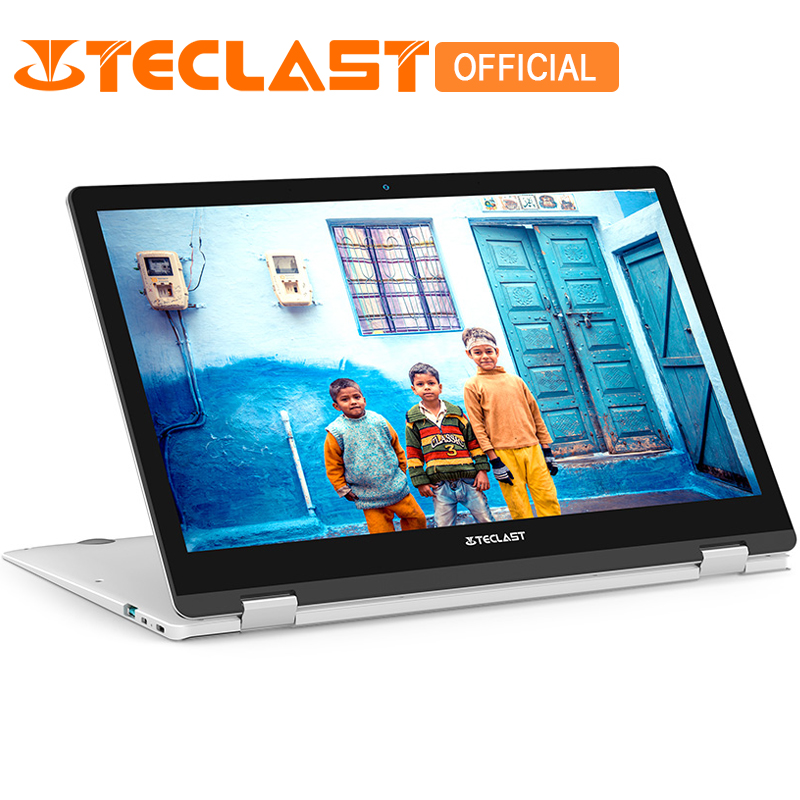 Teclast F6 Pro Portable 13.3 pouce Windows 10 Intel Core m3-7Y30 Dual Core 8 gb RAM 128 gb SSD D'empreintes Digitales reconnaissance Bluetooth