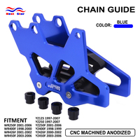 Aluminum Motorcycle Chain Guard Guide For Yamaha WR 250F 400F 426 450 F YZ125 250 400 426 450 F 97 98 99 00 01 02 03 04 05 06 07