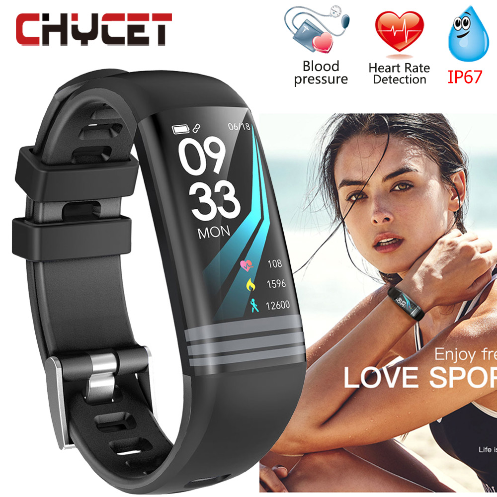 Smart Bracelet Watch Waterproof IP67 Blood Pressure Measurement GPS Fitness Tracker Watch Activity Tracker Heart Rate Tracker motorcycle cylinder kit 250cc engine for yamaha majesty yp250 yp 250 170mm vog 257 260 eco power aeolus gsmoon xy260t atv