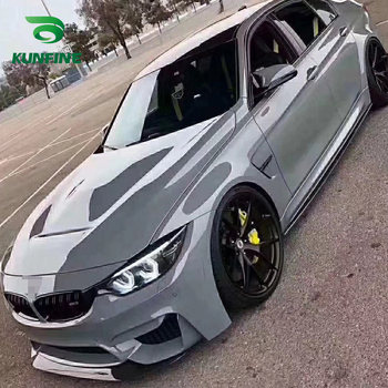 Car Styling Wrap Gloss Cement gray Car Vinyl film Body Sticker Car sticker With Air Free Bubble For Motorcycle Car Tuning Part