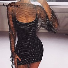 97eb0ca27a Buy fishnet hollow out beach cover up and get free shipping on  AliExpress.com