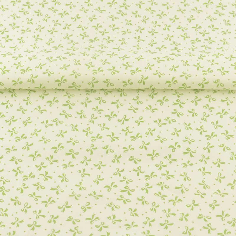 <font><b>News</b></font> BOOKSEW fabric Green Bows Pattens Sewing Patchwork Cotton Fabric Decorations Quilting Bedding Dress kids bedding textile image