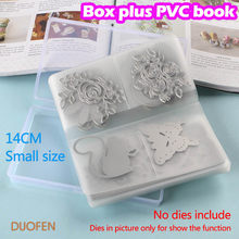 DUOFEN CUTTING DIES 14CM-18CM Cutting dies storage book BOX PLUS PVC book easy for handling & protecting your cutting dies(China)