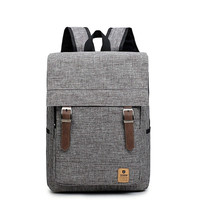 Canvas Travel Notebook School Bag Backpack Male Female For Teenager Man Women Schoolbag Large Back Pack Bagpack Casual Sac A Dos