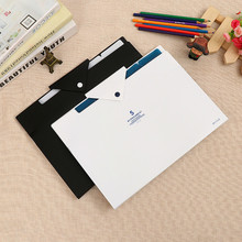 цена на 5 Layer Document Bag Expanding plastic waterproof File pockets Folder office Organizer Folder for Documents A4 stationary Paper