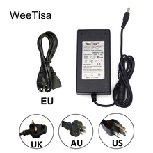 24V Power Adapter 2A 3A 4A 5A LED Power Supply 24 Volt LED Driver AC 110V 220V to DC 24V for CCTV LED Strip Light Transformer цена