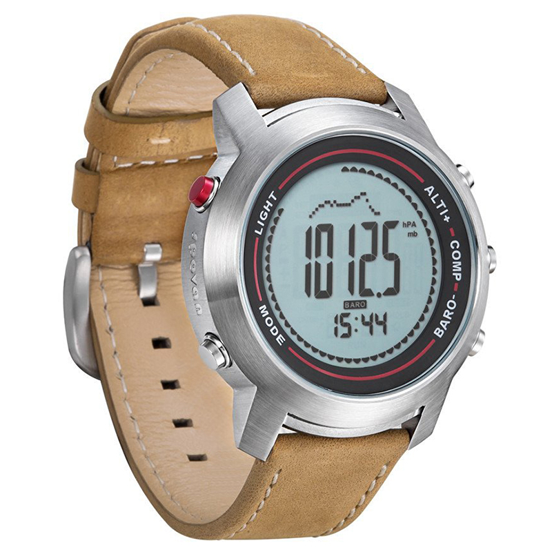 Spovan Outdoor Digital Watches With Leather Band MG-01 Sports Watch With Altimete Barometer CompassSpovan Outdoor Digital Watches With Leather Band MG-01 Sports Watch With Altimete Barometer Compass
