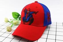 Spiderman Cartoon Baseball Caps For Kids
