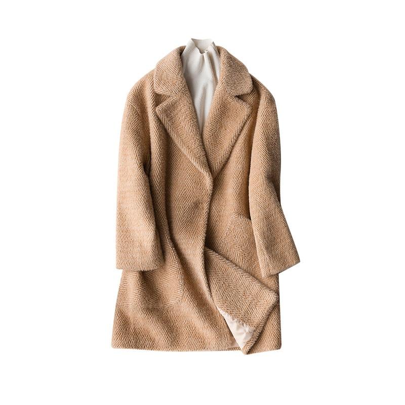 Windswear A1 ljm08 Mère Océan a2 Vêtements 2 zhang Mi Épaissie D'âge De Automne Nouvelle D'hiver Noble Femmes Survêtement Furry 6wnTf