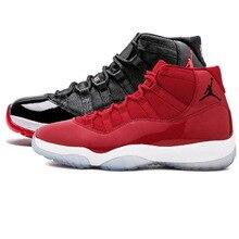 online store 68b29 57eb0 Limitada Jordan 11 zapatos de baloncesto gimnasio rojo vino como 96 zapatos  de invierno zapatos de