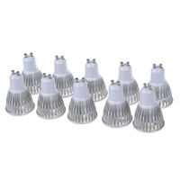 10 x 5W GU10 5 LED GU10 LED Bulb LED Light Bulb Cold White LED 450 Lumen AC95 240V