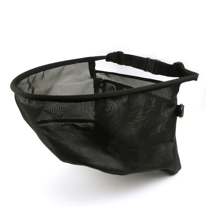 Professional Fly Fishing Line Tray String Bag Mesh Stripping Basket Waist Net