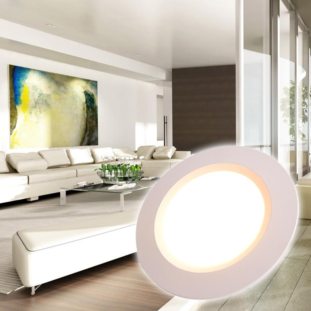 Светодиодный светильник 3 Вт круглый встраиваемые светодиодные лампы 12V низшее Напряжение светодиодный лампы Спальня Кухня Крытый светодиодный точечные светильники с 2 м) провод с клеммой сечением