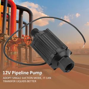 Image 2 - 1 個 LG39 DN15 片吸込パイプラインポンプ 12V 18 ワット高圧水パイプラインブースターポンプ家庭用業界化粧品