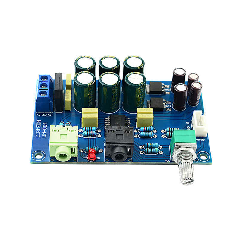 Tpa6120 Headphone Amplifier Board Hifi Tpa6120A2 Enthusiast Headphones Amp Amplificador Zero Noise Diy