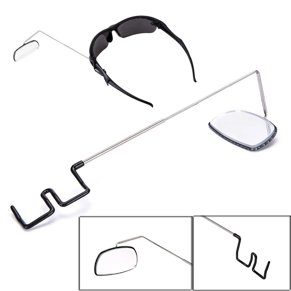 Adjustable Bike Helmet Rearview Mirror Bicycle Cycling Riding Rear View Eyeglass