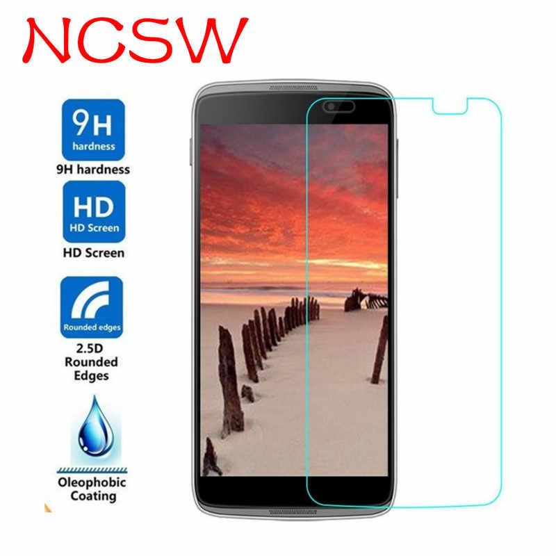 NCSW 2.5D HD Temperli Koruyucu Cam alcatel için kılıf 1X 3X 3C 3 V 5 V U5 POP UP 9 H Ekran koruyucu Film Için Alcatel 1 3 5 7