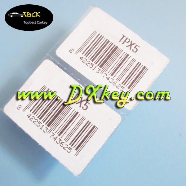 Topbest New Product tpx5 transponder chip