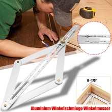 15 zoll Universal Gehrung Winkel Messen Werkzeug Lineal Rahmen Carbon Stahl Winkelmesser Multi-winkel Messung Holzbearbeitung Werkzeuge