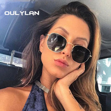 Oulylan Retro Sunglasses Men Polygon Sun Glasses Vintage Sha