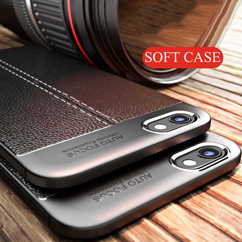 Coque Lưng Capa Cho LG G6 G7 Q6 Q6 Plus Thời Trang Ôm Dáng Da Chống Sốc TPU Mềm Điện Thoại Ốp Lưng dành Cho LG G7 V30 Fundas