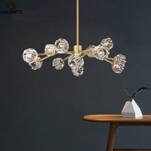 Modern Pendant Lamp Light Lustres Crystal LED Chandelier Copper Living Room Dining Room Bedroom Lighting Hanging Lamp Luminaires мясоедов в заместитель для демиурга