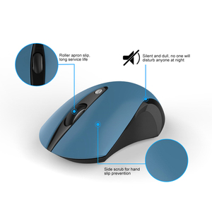 Image 3 - 2.0 USB אלחוטי עכבר אלחוטי עכבר שקט 2.4Ghz 1600 DPI מקלט חריש עכבר USB האופטי עכברים מחשב PC מחשב נייד