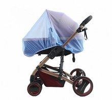Infant child baby stroller special mosquito net small mosquito net large amount of price excellent encryption full color cover(China)